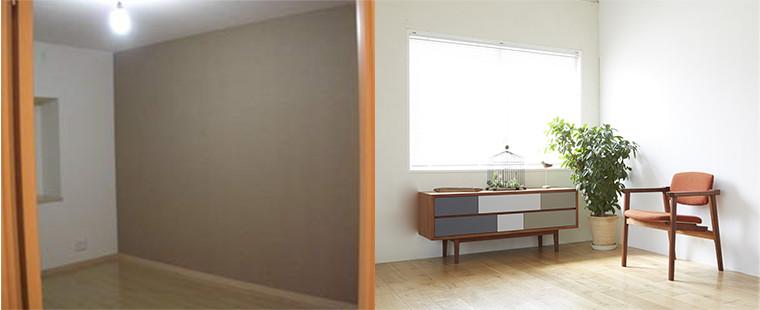 画像:居室のクロス張替え料金表