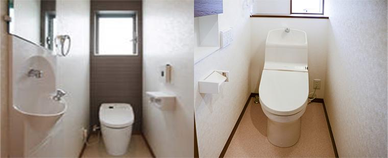 画像:トイレのクロス張替え料金表